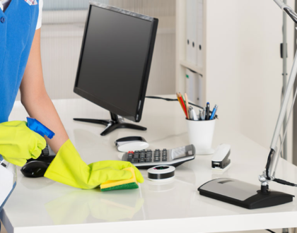 Disinfecting the workplace. Why is this so important?